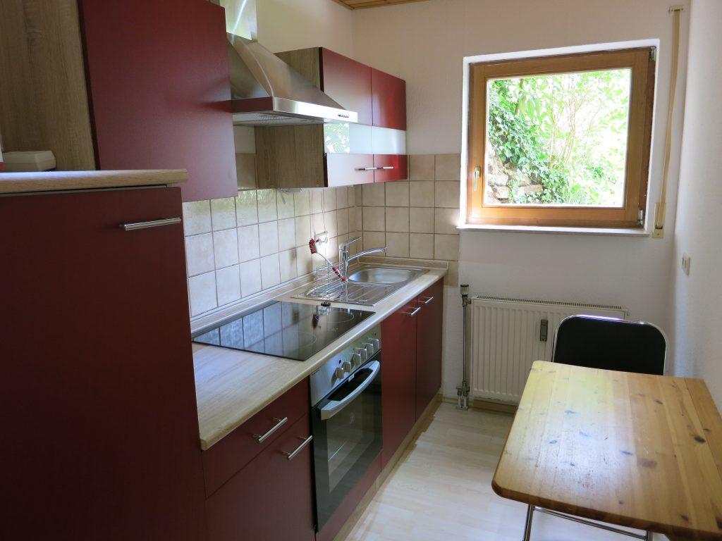 Bild der Küche der Ferienwohnung Rudolphi