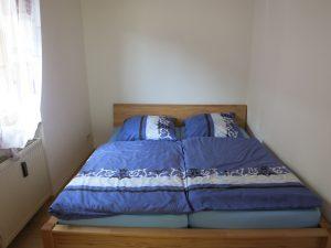 Bild des Schlafzimmers der Ferienwohnung Rudolphi