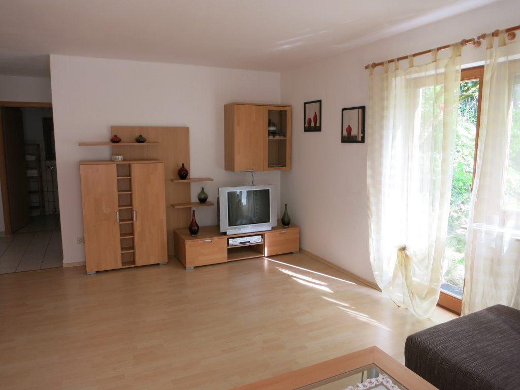Bild des Wohnzimmers der Ferienwohnung Rudolphi